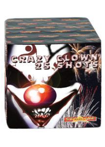 feu d'artifice pour particulier, achat feux d'artifice, feux d'artifices pour jardin, feu d'artifice automatique, Feux d'Artifices Compacts, Crazy Clown