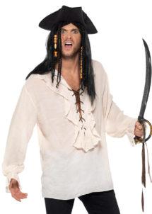 chemise pirate, chemise renaissance, chemise médiévale, accessoire déguisement pirate, Chemise Pirate et Renaissance, Ivoire