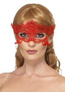 masque en dentelle, loup dentelle, masque carnaval de Venise, loup dentelle rouge, masque en dentelle, Loup Dentelle Coeur, Rouge