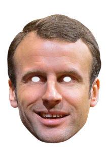 masque Emmanuel Macron, masque politique, masques présidents, masques célébrités, masques politiques carton, Masque Emmanuel Macron