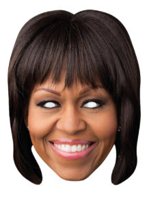 masque Michele Obama, masque Michelle obama, masque états unis, masques célébrités, masques politiques, masques célébrités carton, Masque Michelle Obama