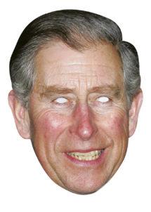 masque prince charles, masque anglais, masques célébrités, masques carton, masque du prince charles, Masque Prince Charles