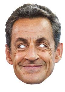 masque Sarkozy, masque Nicolas Sarkozy, masque président, masques politiques carton, masques célébrités, Masque Nicolas Sarkozy