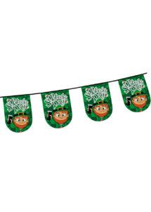 guirlande fanions saint patrick, décorations saint patrick, guirlande saint patrick's day, guirlande de fanions saint patrick, Guirlande Saint Patrick, Fanions Leprechaun