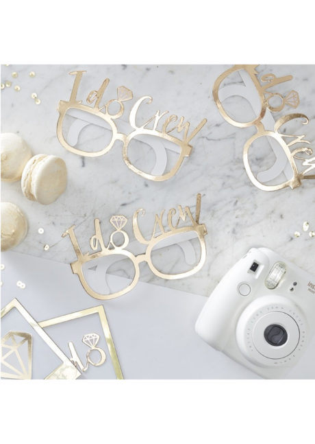accessoire evjr, accessoires enterrement de vie de jeune fille, lunettes evjf, accessoires evjf, enterrements de vie de jeune fille, 8 Lunettes Bride to Be, I do Crew*, Je Fais Equipe!
