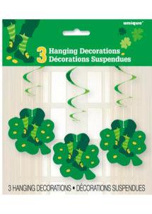 décorations saint Patrick, suspensions saint patrick, suspensions trèfles, Décorations Saint Patrick, Suspensions Trèfles
