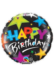 ballon hélium, ballon anniversaire, ballon aluminium, ballons hélium, Ballon Anniversaire, Etoiles Star, en Aluminium
