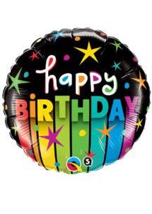 ballon hélium, ballon anniversaire, ballon aluminium, ballons hélium, Ballon Anniversaire, Colorful, en Aluminium