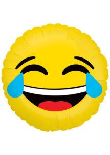 ballon hélium, ballon émoticone, ballon smiley, ballon aluminium, ballon décoration, ballon mylar, Ballon Emoji, LOL, en Aluminium