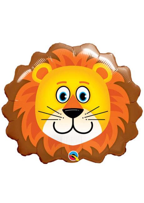 ballon aluminium, ballons décorations, ballons hélium, ballon géant, ballon mylar, ballons animaux, ballon lion, Ballon Lion, en Aluminium