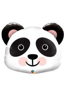 ballon aluminium, ballons décorations, ballons hélium, ballon géant, ballon mylar, ballons animaux, ballon panda, Ballon Panda, en Aluminium