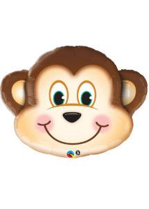 ballon aluminium, ballons décorations, ballons hélium, ballon géant, ballon mylar, ballons animaux, ballon singe, Ballon Singe, en Aluminium