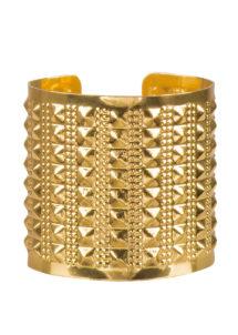 bracelet manchette, bracelet romain, bracelet doré manchette, bracelet cleopatre, Bracelet Manchette, Métal Doré
