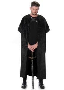 déguisement de viking, cape de viking, déguisement de viking, déguisement viking adulte, costume viking adulte, déguisement game of throne, déguisement viking homme, cape viking déguisement, costume viking déguisement, Cape de Chevalier et Viking, avec Fourrure Noire