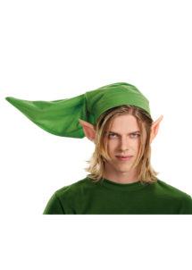 chapeau link legend of Zelda, chapeau legend of Zelda, chapeau oreilles pointues, Chapeau Link + Oreilles, Legend of Zelda