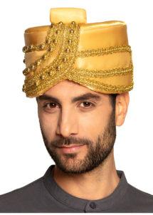 chapeau oriental, chapeau de sultan oriental, chapeau, Chapeau Oriental de Sultan Or