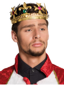 couronne de roi, couronne royale, couronne de roi luxe, couronne de roi métal, Couronne de Roi Métal, Luxe