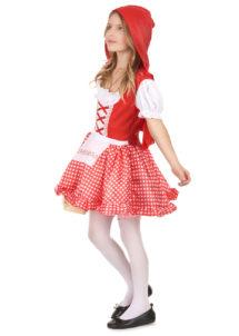 déguisement chaperon rouge enfant, déguisement chaperon rouge fille, costume chaperon rouge enfant, Déguisement Chaperon Rouge à Carreaux, Fille