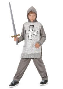 déguisement de chevalier enfant, costume chevalier enfant, déguisements enfants, costume chevalier enfant, déguisements garçons, Déguisement de Chevalier Gris, Garçon