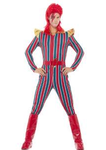déguisement David bowie, déguisement Ziggy stardust, déguisement années 80, déguisement chanteur, Déguisement Bowie, Ziggy Stardust, Space