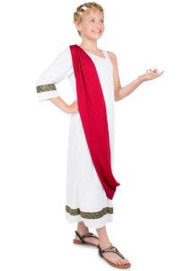 déguisement romaine, déguisement déesse romaine fille, costume de romaine enfant, Déguisement de Déesse Romaine, Fille