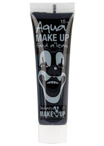 fard à l'eau, Aqua make up, peinture corps et visage, maquillage carnaval, maquillage Halloween, fard à l'eau noir, Peinture Noire, Fard à l'Eau, Corps et Visage