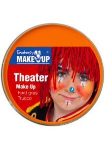 fard gras, peinture corps et visage, maquillage carnaval, maquillage Halloween, fard gras orange, Peinture Orange, Fard Gras, Corps et Visage