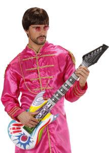 guitare électrique gonflable, guitare déguisement, accessoire rock déguisement, accessoire chanteur déguisement, fausse guitare électrique déguisement, Guitare Electrique Gonflable, Seventies