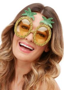 lunettes annas, lunettes tropicales, lunettes fruits, Lunettes Ananas Paillettes