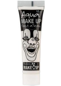 fard à l'eau, Aqua make up, peinture corps et visage, maquillage carnaval, maquillage Halloween, fard à l'eau blanc, Peinture Blanche, Fard à l'Eau, Corps et Visage