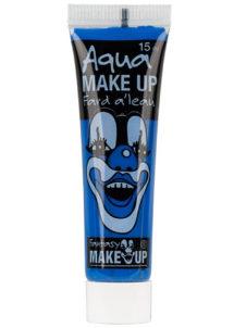 fard à l'eau, Aqua make up, peinture corps et visage, maquillage carnaval, maquillage Halloween, fard à l'eau bleu, Peinture Bleue, Fard à l'Eau, Corps et Visage