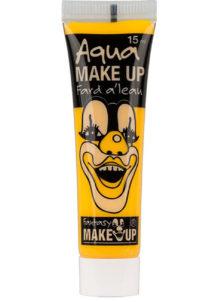 fard à l'eau, Aqua make up, peinture corps et visage, maquillage carnaval, maquillage Halloween, fard à l'eau jaune, Peinture Jaune, Fard à l'Eau, Corps et Visage