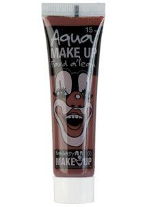 fard à l'eau, Aqua make up, peinture corps et visage, maquillage carnaval, maquillage Halloween, fard à l'eau marron, Peinture Marron Foncé, Fard à l'Eau, Corps et Visage