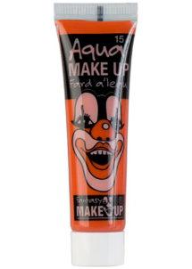 fard à l'eau, Aqua make up, peinture corps et visage, maquillage carnaval, maquillage Halloween, fard à l'eau orange, Peinture Orange, Fard à l'Eau, Corps et Visage