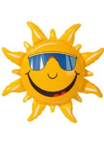 soleil gonflable, décorations hawaï, décorations gonflables, faux animal, décorations tropicales, Soleil Gonflable