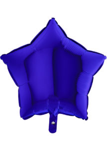 ballon étoile, ballon aluminium, ballons étoiles bleue, Ballon Etoile Bleu Capri, en Aluminium