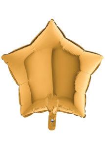 ballon étoile, ballon aluminium, ballons étoiles dorée, Ballon Etoile Dorée, en Aluminium