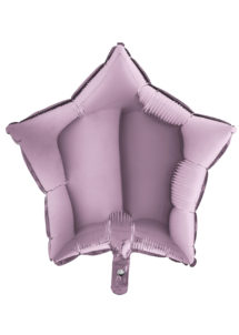 ballon étoile, ballon aluminium, ballons étoiles parme lilas, Ballon Etoile Lilas, en Aluminium