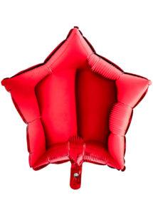 ballon étoile, ballon aluminium, ballons étoiles rouges, Ballon Etoile Rouge, en Aluminium