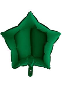 BALLON-ETOILE-VERT-FONCE, Ballon Etoile Vert Foncé, en Aluminium