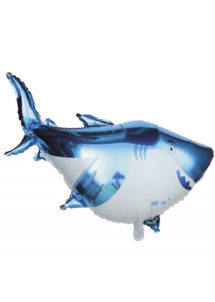 BALLON-REQUIN, ballon hélium, ballon aluminium, ballons poissons, Ballon Poisson Requin, en Aluminium