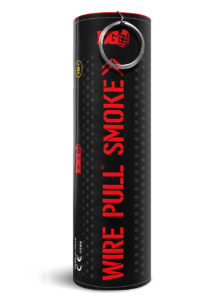 fumigène rouge, fumis rouges, fumigènes de stade, fumigènes 2 mn, fumigènes qualité, Fumigène à Goupille, Rouge