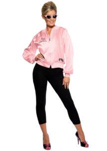 blouson pink ladies, blouson pink lady, déguisement années 60, déguisement grease, déguisement années 50, blouson Grease, Déguisement Années 50, Blouson Pink Ladies Grease