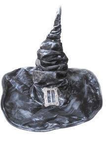 chapeau de sorcière, chapeau sorcier, chapeau sorcière halloween, Chapeau de Sorcier, avec Boucle