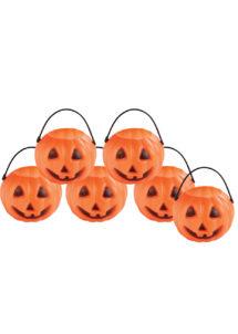 mini chaudrons citrouilles, mini citrouilles halloween, Chaudrons Mini Citrouilles, x 6