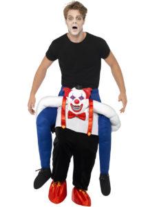 déguisement porte moi, déguisement porté, déguisement carry me, déguisement clown halloween, Déguisement Carry Me, Porte Moi, Clown Sinistre