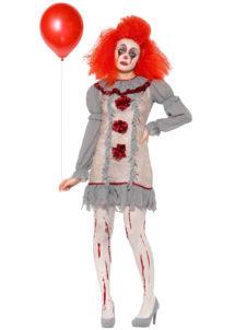 déguisement clown pennywise halloween, déguisement pennywise ça, costume pennywise, Déguisement Clown Vintage Penny