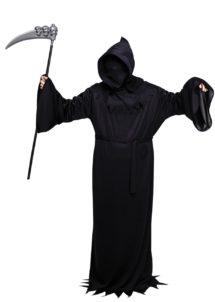 déguisement halloween homme, costume halloween homme, déguisement halloween homme, déguisement scream adulte, Déguisement Mort, Grim Reaper + Cagoule