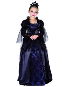 déguisement halloween fille, déguisement reine halloween fille, déguisement halloween enfant, déguisement sorcière halloween fille, Déguisement de Reine Dark Halloween, Fille