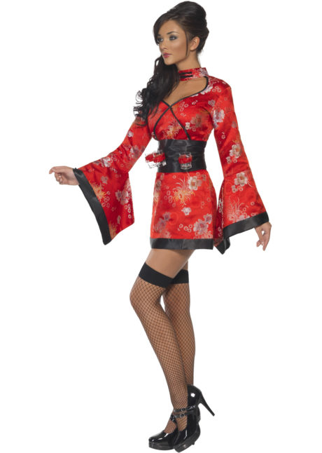 déguisement japonaise adulte, costume kimono japonaise, costume de geisha japonaise, déguisement geisha, Déguisement de Japonaise, Geisha Vodka